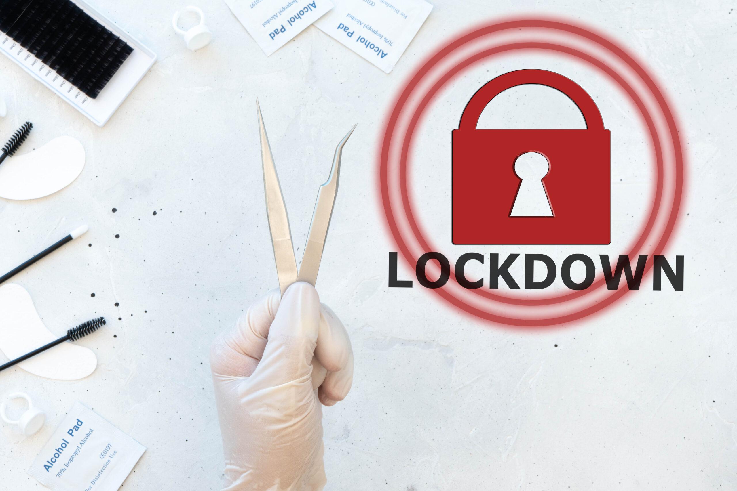 Lockdown Kosmetikstudio
